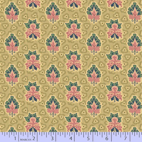 Journey to America 0896-0126 by Judie Rothermel for Marcus Fabrics