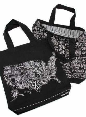 Metropolis Tote Bag by Basic Gray for Moda