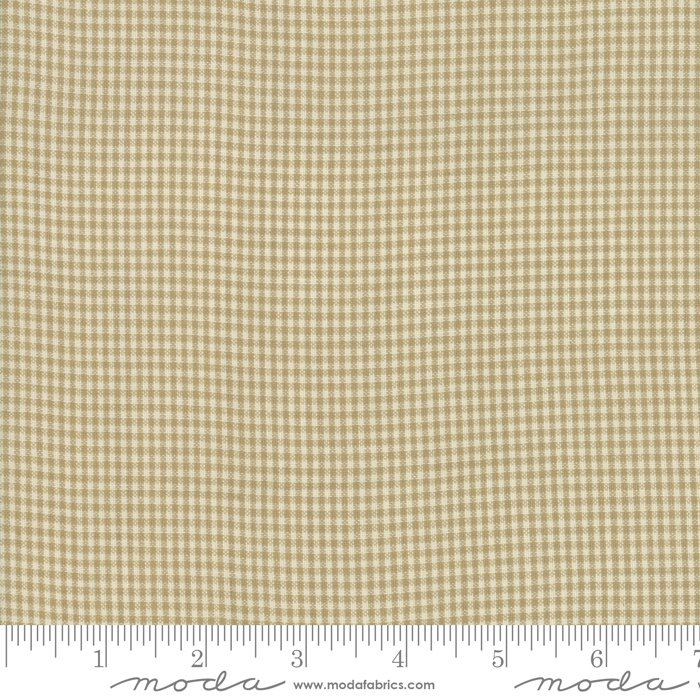 Northport Wovens 12215-38 Silky Check Tan by Minick & Simpson for Moda