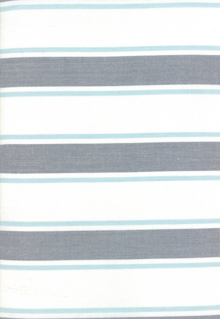 Rock Pool Toweling 18 992-253 Seaglass Stone 2-Tone Stripe by Pieces to Treasure for Moda Pieces