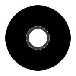 Magna-Glide Delights M size 11001 Black Jar of 10