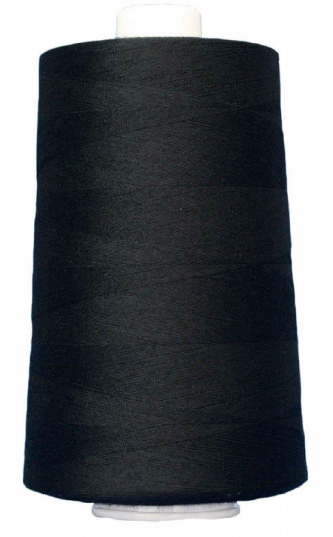 OMNI Polyester Thread 40 wt 6000 yds 3026 Black by Superior