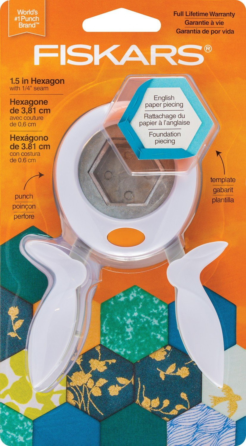 Fiskars 1.5 Hexagon Punch and Template
