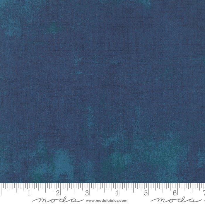 Grunge 30150-307 Prussian Blue by Basic Grey for Moda