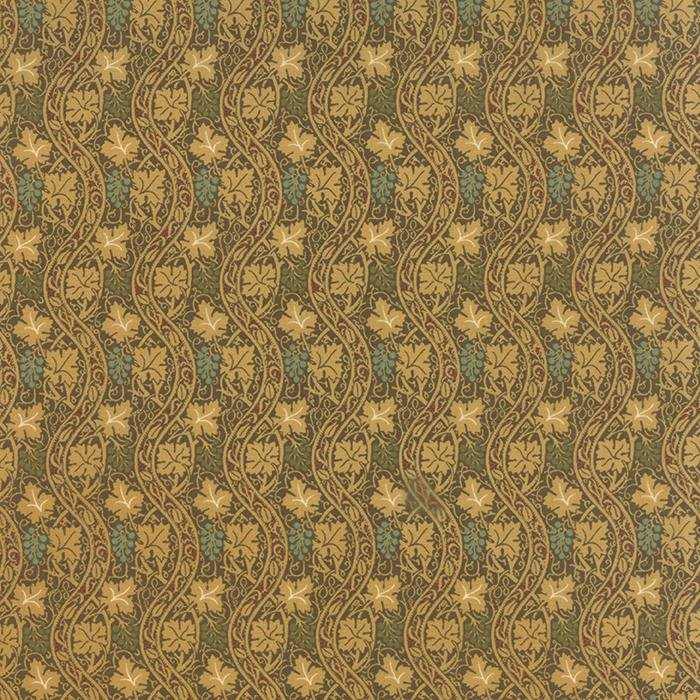 Morris Earthly Paradise 8335-13 by Barbara Brackman for Moda