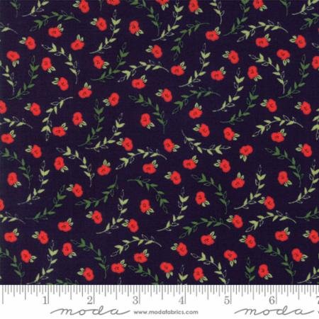 Creekside Posies 37532-16 Midnight by Sherri & Chelsi of A Quilting Life for Moda