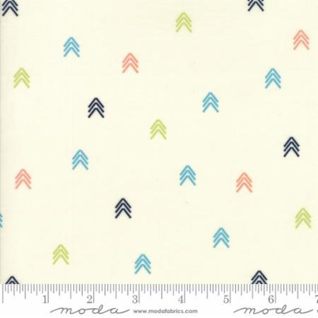 Creekside Compass 37536-11 Ivory by Sherri & Chelsi of A Quilting Life for Moda