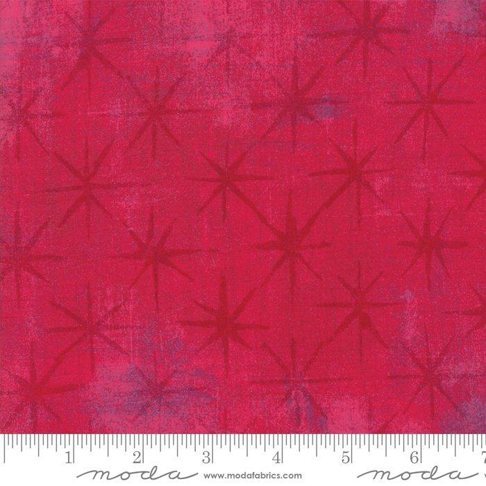 Grunge 30148-31 Raspberry Seeing Stars by Moda