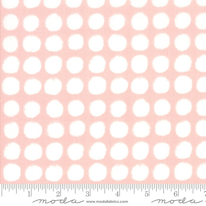 Breeze 1691-23 Big Dots Coral by Zen Chic for Moda