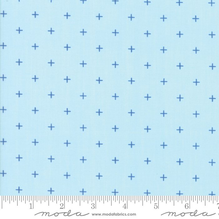 Breeze 1696-13 Pluses Sky by Zen Chic for Moda
