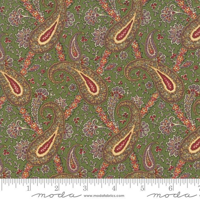 Nancy's Needle 31601-14 Prairie Grass by Betsy Chutchian for Moda
