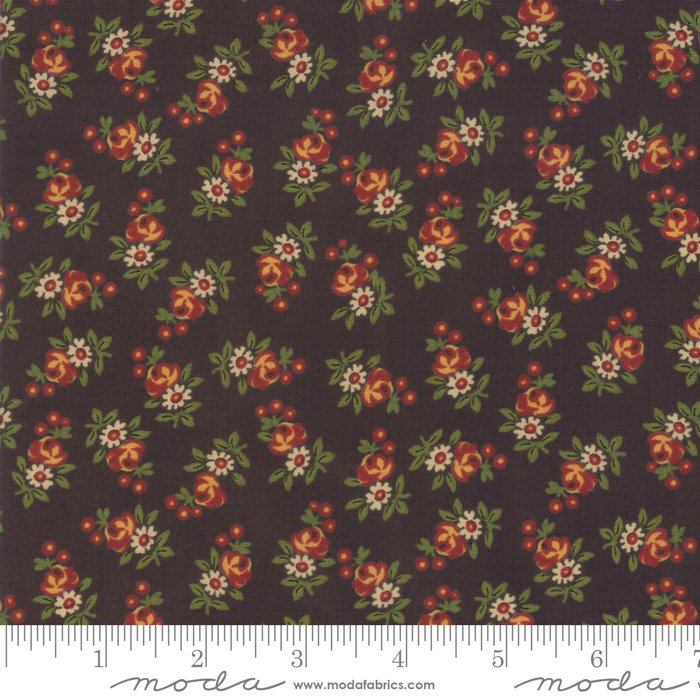 Nancy's Needle 31603-20 Black Walnut by Betsy Chutchian for Moda