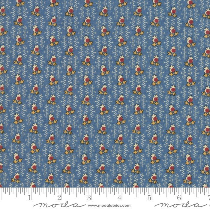 Nancy's Needle 31605-15 Bluebird by Betsy Chutchian for Moda