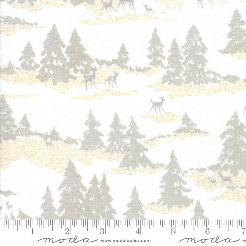 Forest Frost Glitter 33522-11MG Snow from Moda