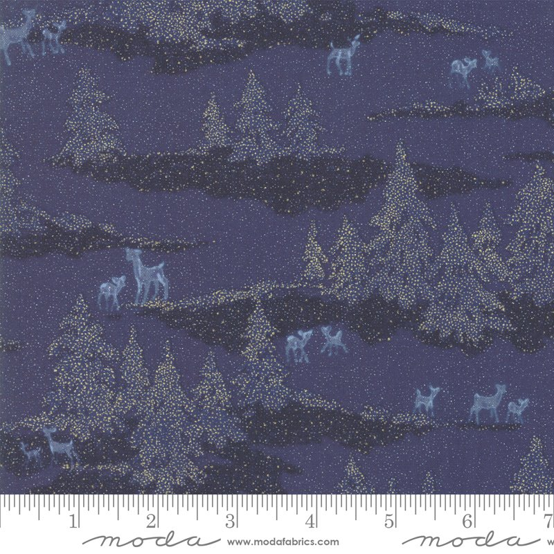 Forest Frost Glitter 33522-16MG Night Sky from Moda