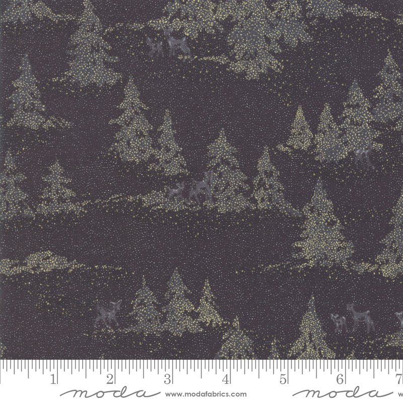 Forest Frost Glitter 33522-17MG Coal from Moda