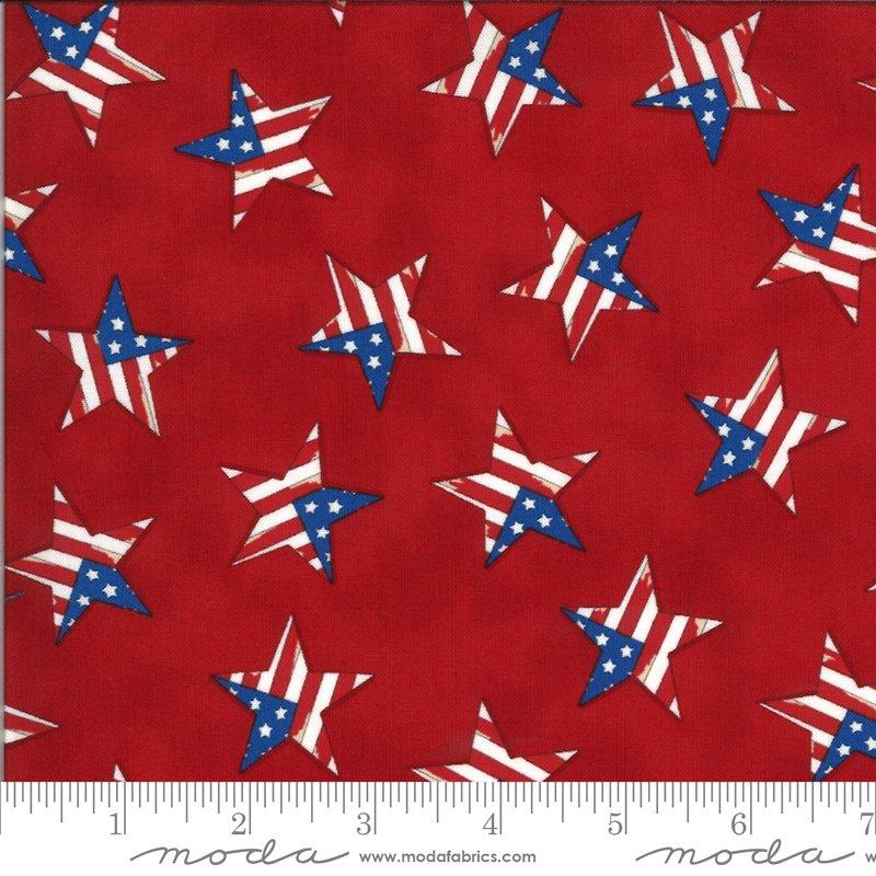 America the Beautiful 19988-11 Stars by Deb Strain for Moda