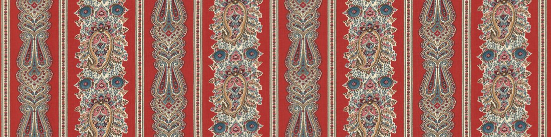Ladies Legacy 8350-11 Cooper Red by Barbara Brackman for Moda Fabrics