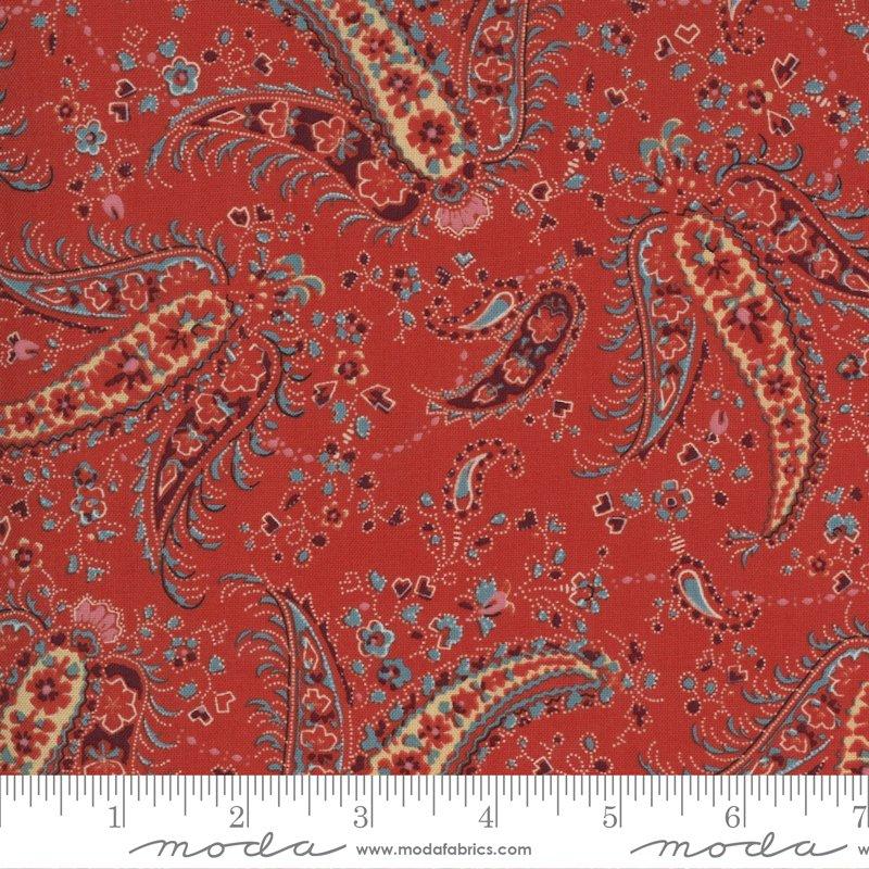 Ladies Legacy 8351-11 Cooper Red by Barbara Brackman for Moda Fabrics