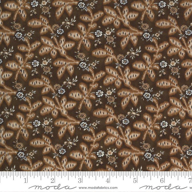 Ladies Legacy 8352-18 Yankee Chocolate by Barbara Brackman for Moda Fabrics