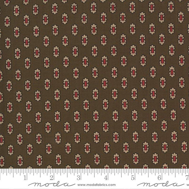 Ladies Legacy 8355-14 Yankee Chocolate by Barbara Brackman for Moda Fabrics