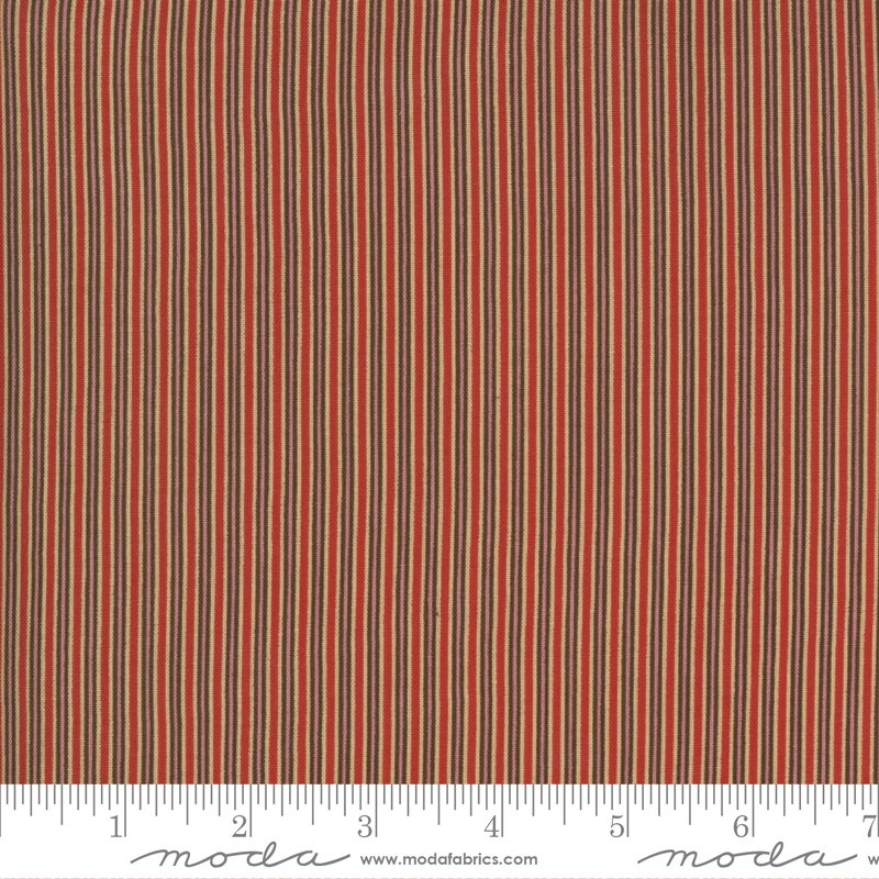 Ladies Legacy 8356-11 Cooper Red by Barbara Brackman for Moda Fabrics