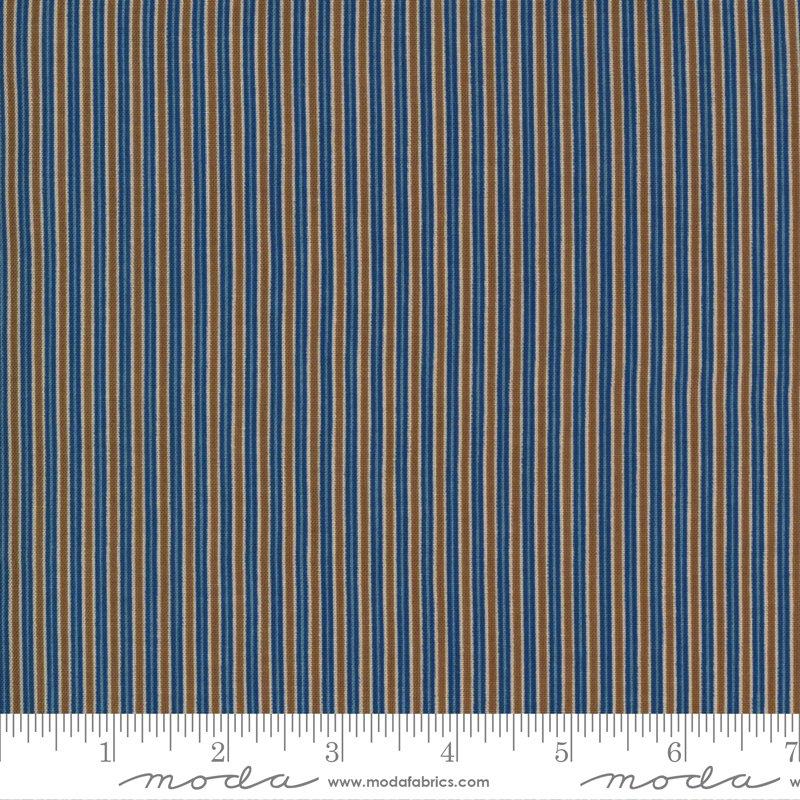 Ladies Legacy 8356-12 Union Blue by Barbara Brackman for Moda Fabrics