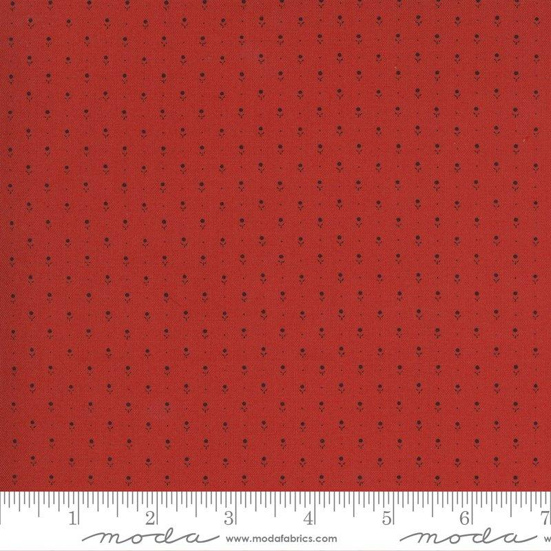 Ladies Legacy 8359-11 Cooper Red by Barbara Brackman for Moda Fabrics