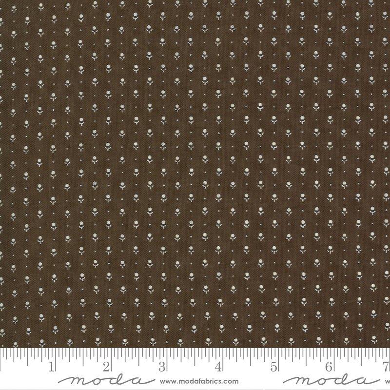 Ladies Legacy 8359-14 Yankee Chocolate by Barbara Brackman for Moda Fabrics