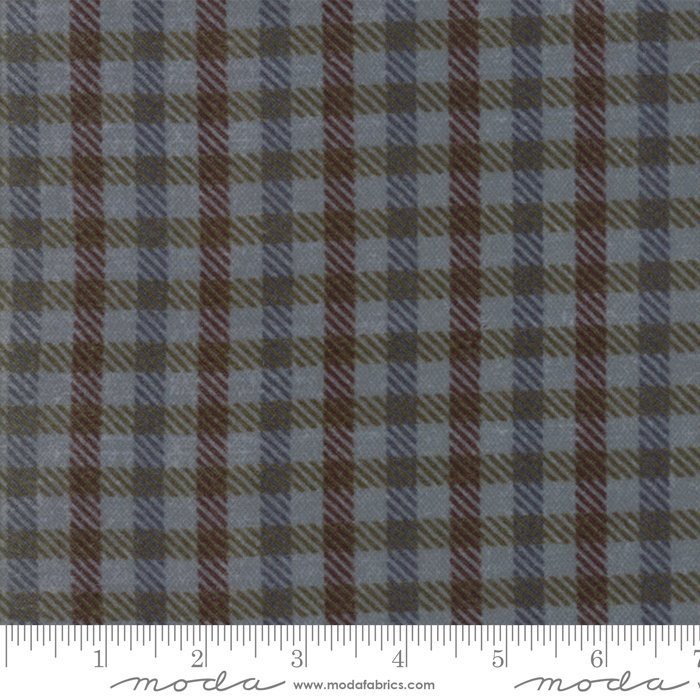 Wool & Needle VI 1255 19F Mason Jar Flannel Primitive Gatherings