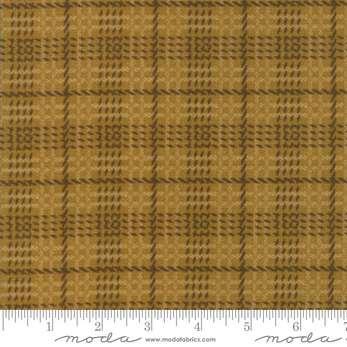 Wool & Needle VI 1257 16F Saffron Flannel Primitive Gatherings