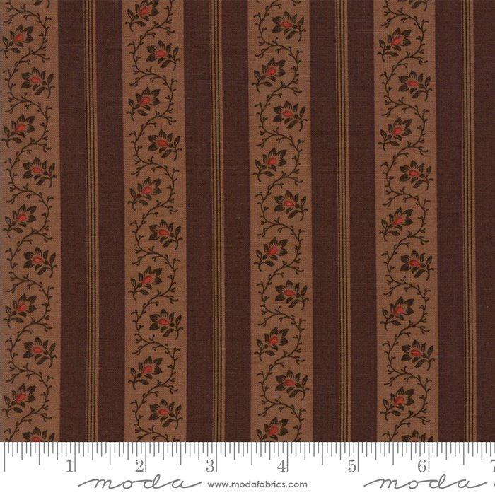 Spice It Up 38054-18 Dark Brown by Jo Morton for Moda