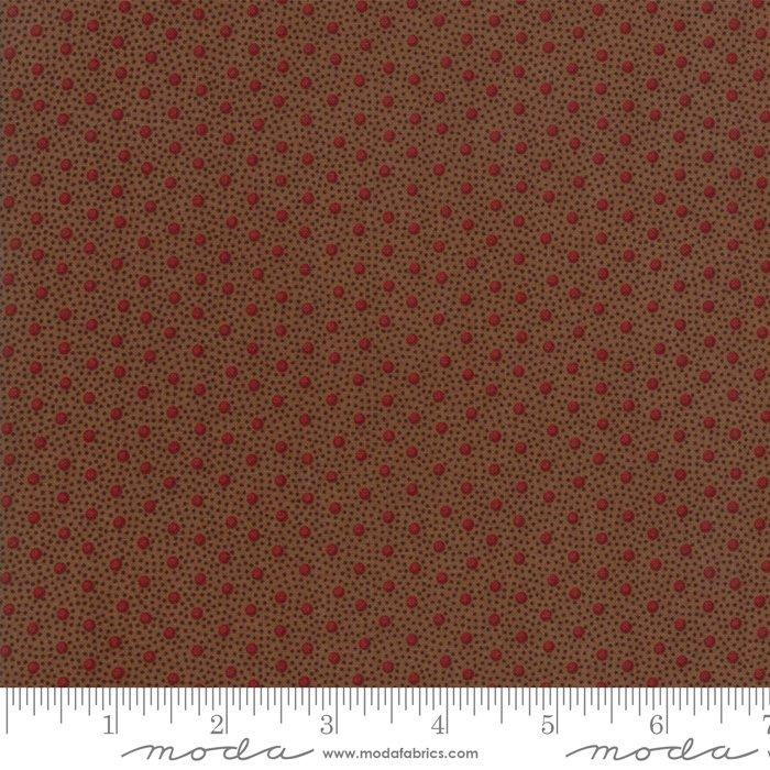 Spice It Up 38056-17 Medium Brown by Jo Morton for Moda