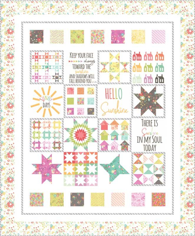 Sunnyside Up Quilt Kit by Corey Yoder for Moda