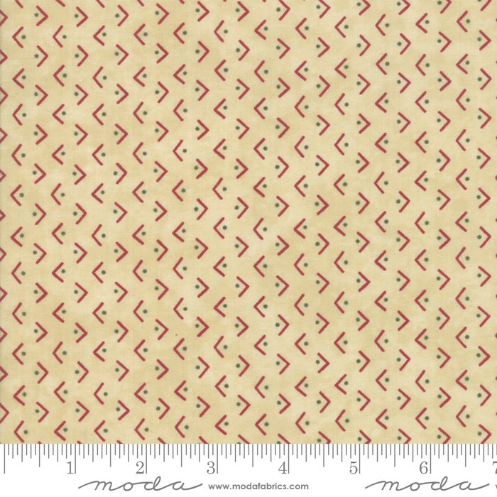 Winter Manor 6775-12 Buff by Holly Taylor for Moda