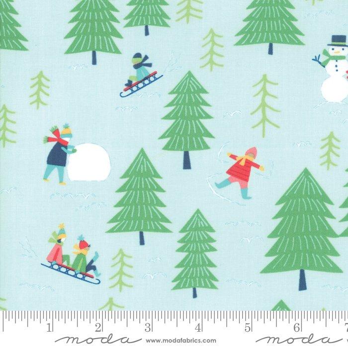 Snow Day 20631-13 Snow Fun by Stacy Iest Hsu for Moda