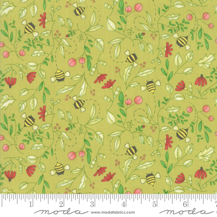 Painted Meadow 48662-13 Sprig by Robin Pickens for Moda