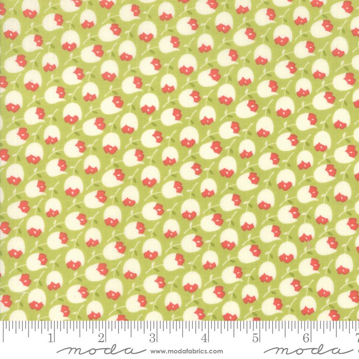 Scarlet Sage 20364 16 Sage by Fig Tree Quilts, Moda