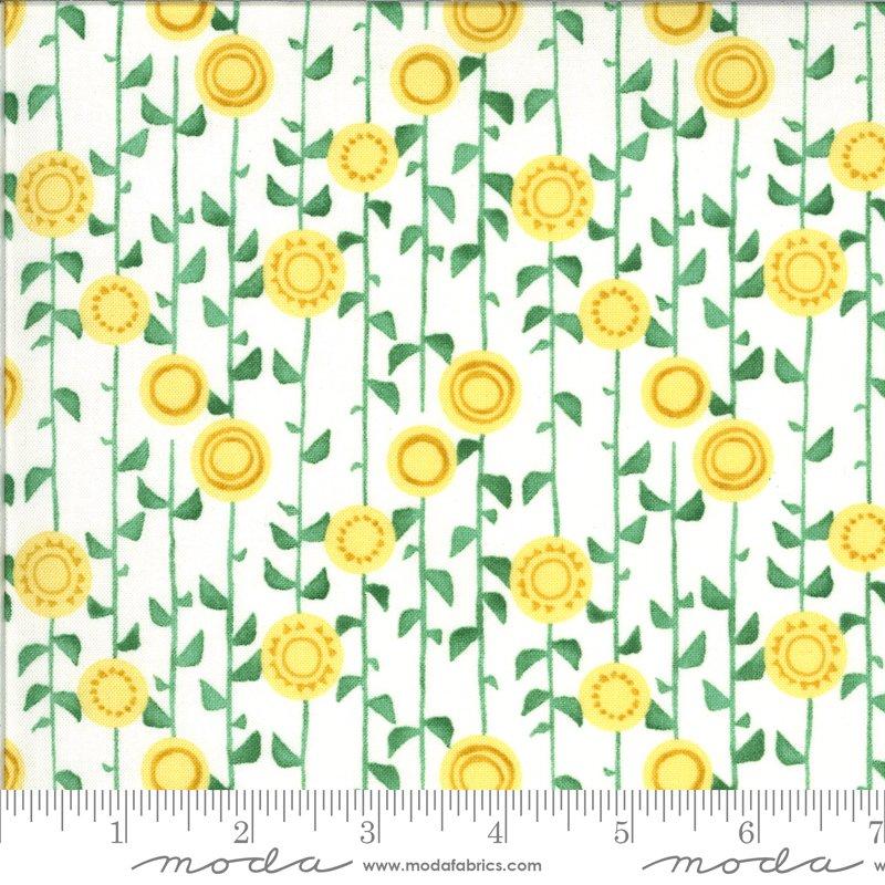 Solana 48683-11 Stalks Cream by Robin Pickens for Moda