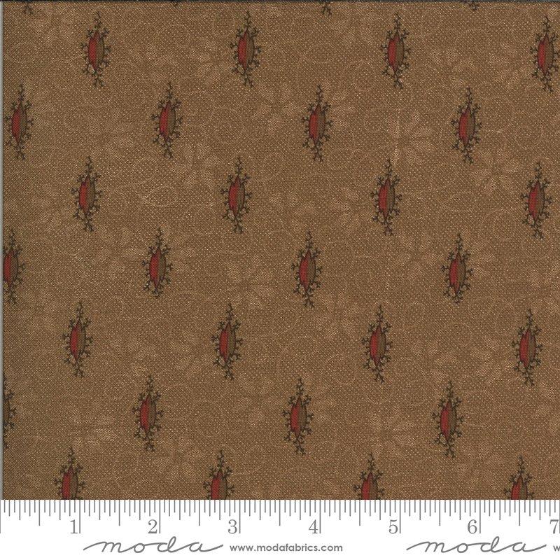 Hopewell 38110-16 Cocoa by Jo Morton for Moda Fabrics