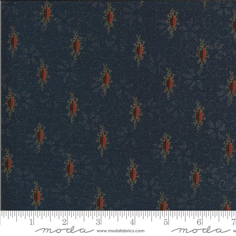 Hopewell 38110-18 Indigo by Jo Morton for Moda Fabrics
