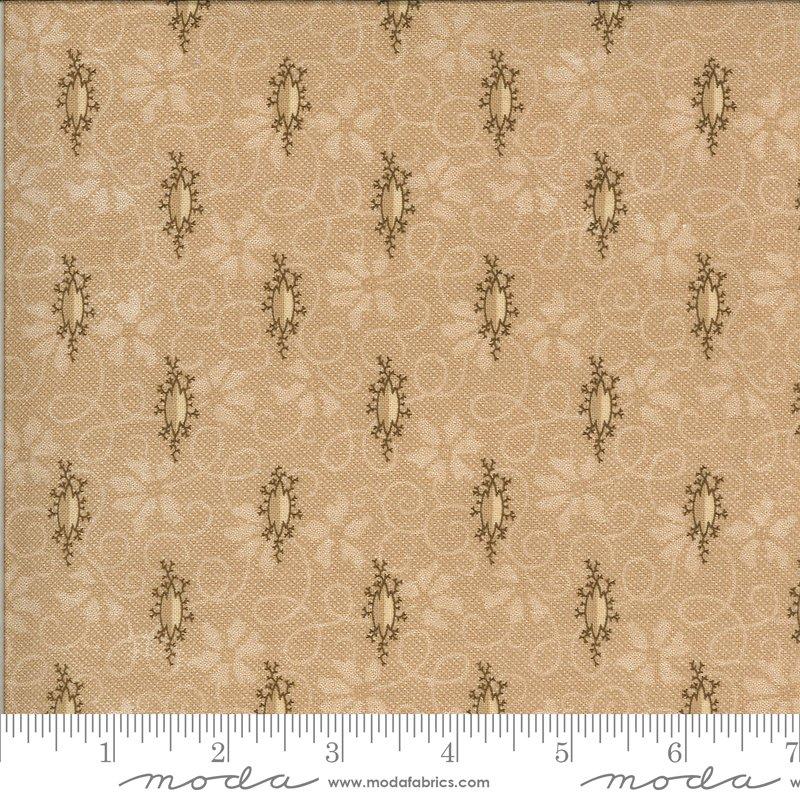 Hopewell 38110-23 Tan by Jo Morton for Moda Fabrics