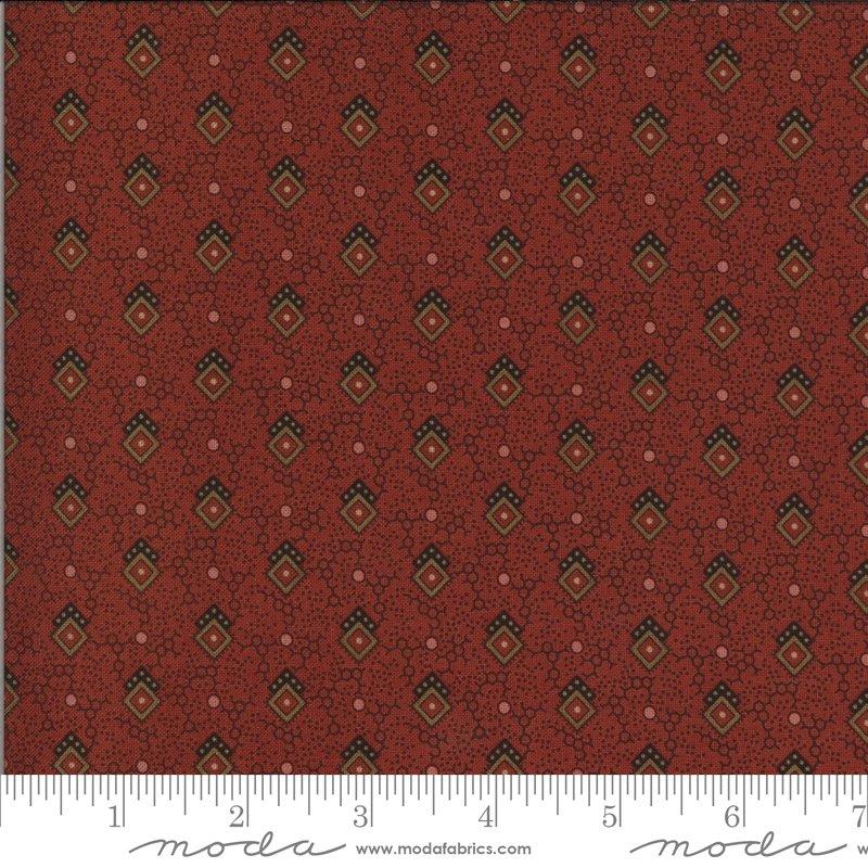 Hopewell 38111-15 Brick by Jo Morton for Moda Fabrics