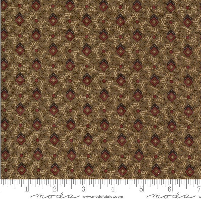 Hopewell 38111-16 Cocoa by Jo Morton for Moda Fabrics