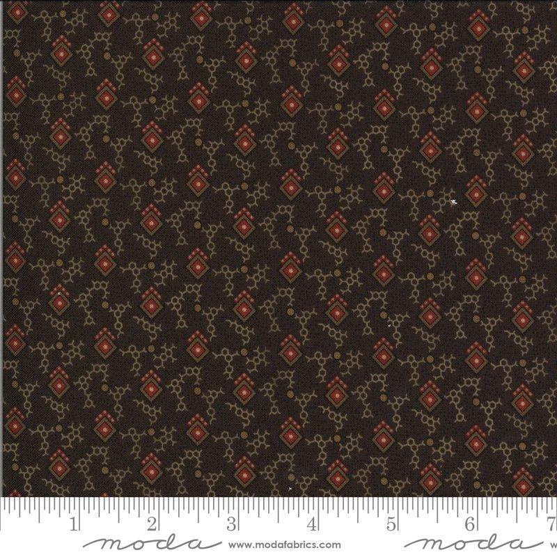 Hopewell 38111-17 Dark Chocolate by Jo Morton for Moda Fabrics