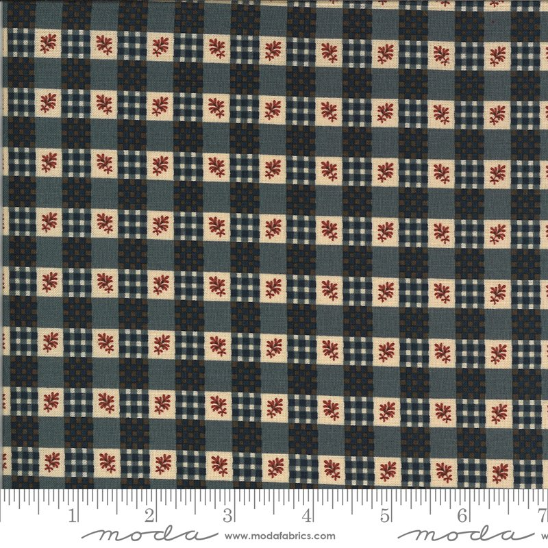 Hopewell 38113-18 Indigo by Jo Morton for Moda Fabrics