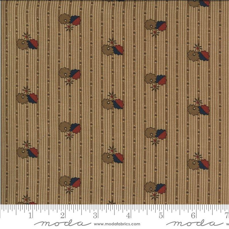 Hopewell 38114-16 Cocoa by Jo Morton for Moda Fabrics