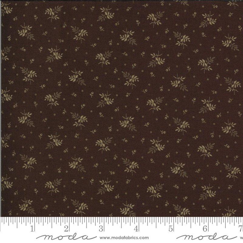 Hopewell 38116-17 Dark Chocolate by Jo Morton for Moda Fabrics