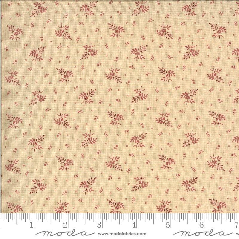 Hopewell 38116-25 Cream Pink by Jo Morton for Moda Fabrics
