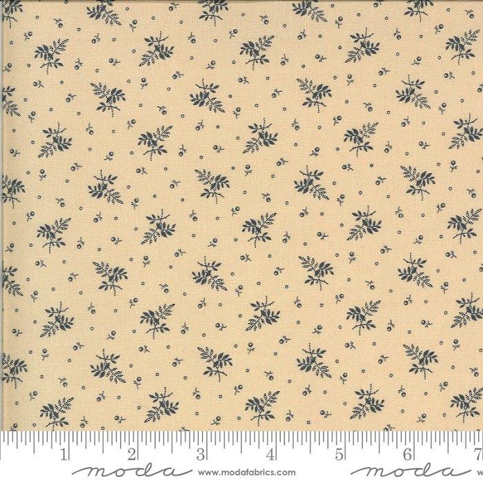Hopewell 38116-28 Cream Indigo by Jo Morton for Moda Fabrics